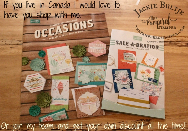 The Occasions and Sale-a-bration catalog live today January 4, 2017