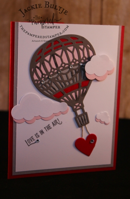 Valentine's Card using Lift Me Up bundle