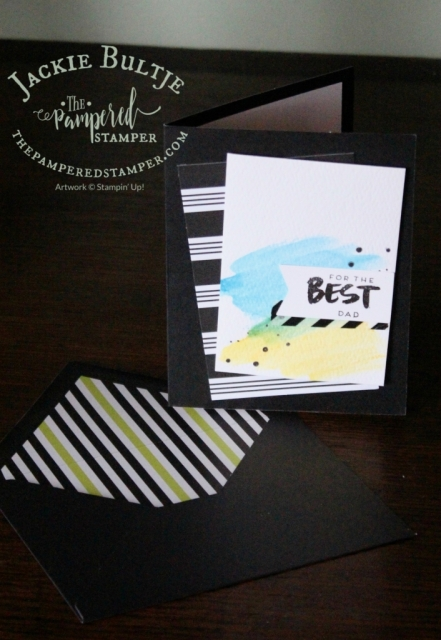 While this card says Best Dad, you can also choose Best Teacher which is very handy for those end of the year teacher gifts.
