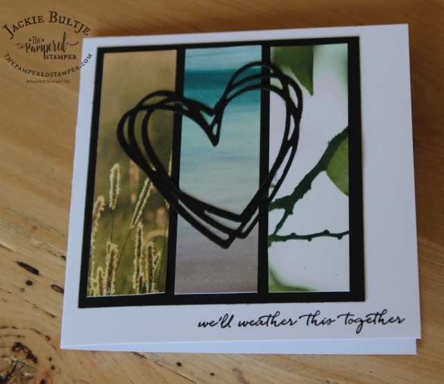 Amazing what you can create with small paper scraps! Weather Together is retiring, so get it before May 31!