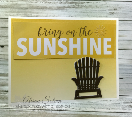Great card by Alison Solven using the Memories and More cards.