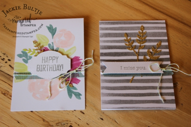 Soft Sayings Kit has ten different card styles, two of each. Great value and such soft pretty colours.