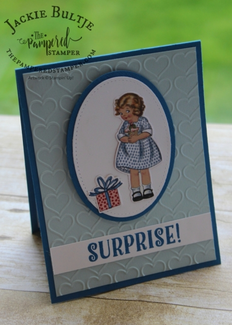 Happy Heart embossing folder with Birthday Memories Suite