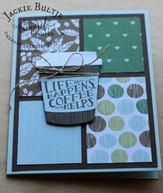 Patterned paper is so addictive, I just love using different patterns on the same cards so you can see how well they coordinate.