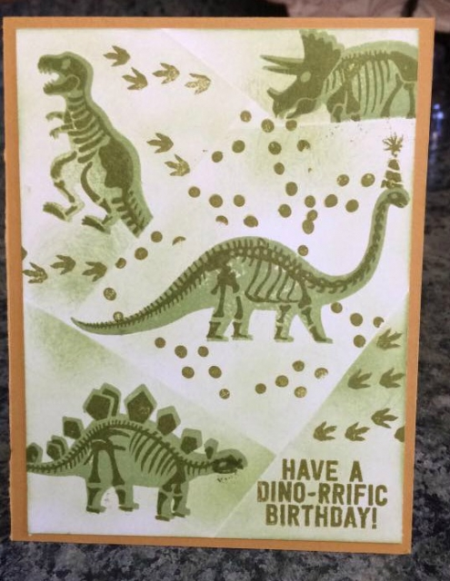 Great retiform card for a kid's birthday
