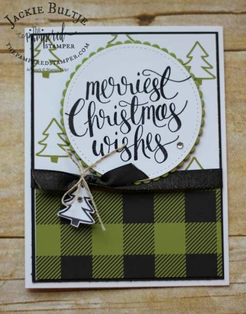 Selina Merali's card using Merry LIttle Christmas suite.