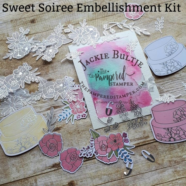 Sweet Soiree Embellishment Kit #145578