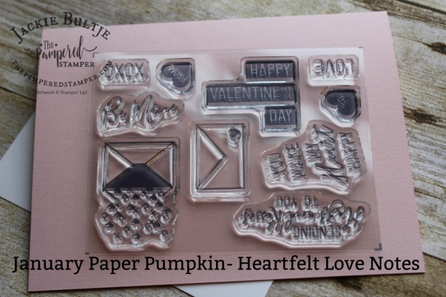 Paper Pumpkin Valentine's Day set