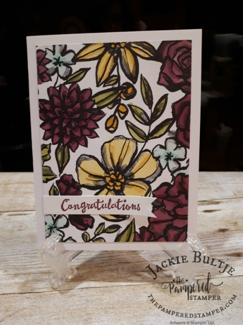 Petal Passion designer series paper and Petal Palette stamp set