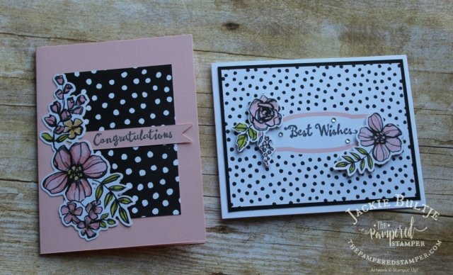 Pretty die cut stickers are included in this Memories and More card pack