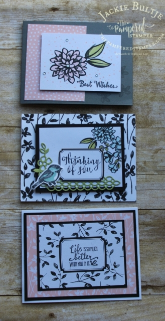 Petal Passion Memories & More cards for greeting cards