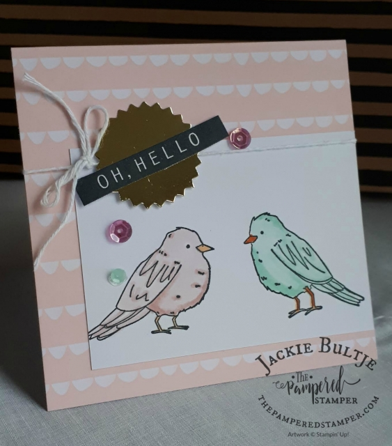 Love the bird images in the Color Me Happy bundle.
