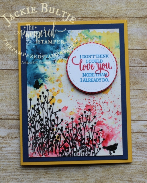 So many lovely images in this stamp set Enjoy Life, plants, people, butterflies and a bird not to mention beautiful sentiments.