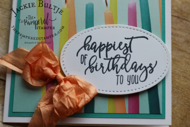Love the sentiments in Picture Perfect Birthday.