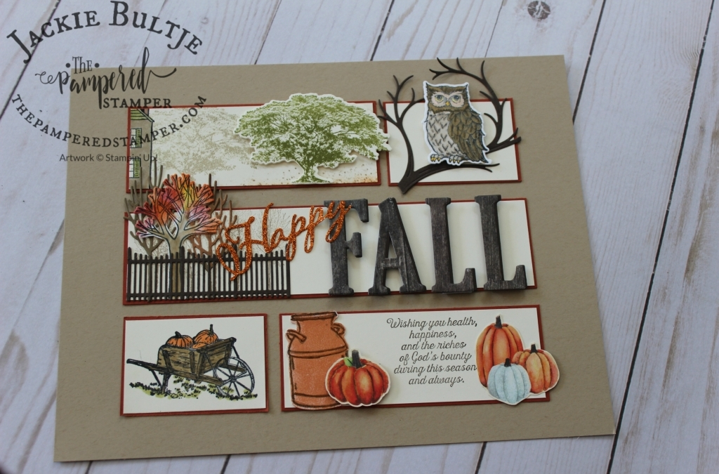 Fall Sampler:  Showcase your Stamping Art!