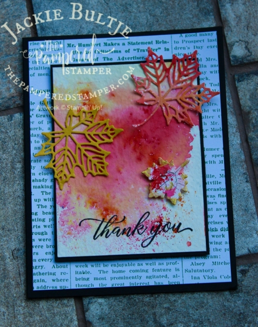 Copper foil, gold shimmer paint and Beautiful Brusho
