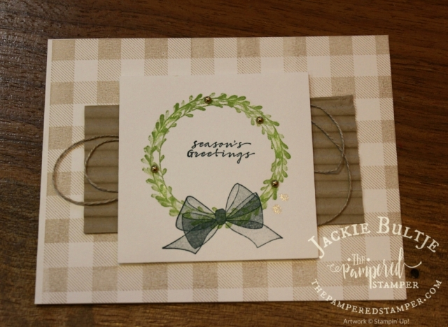 Lovely card by Lorraine Pye.