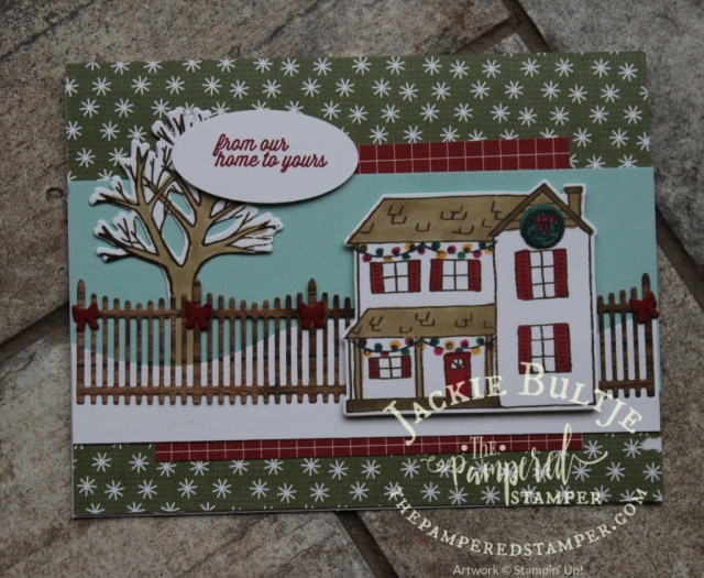 Festive Farmhouse swap card