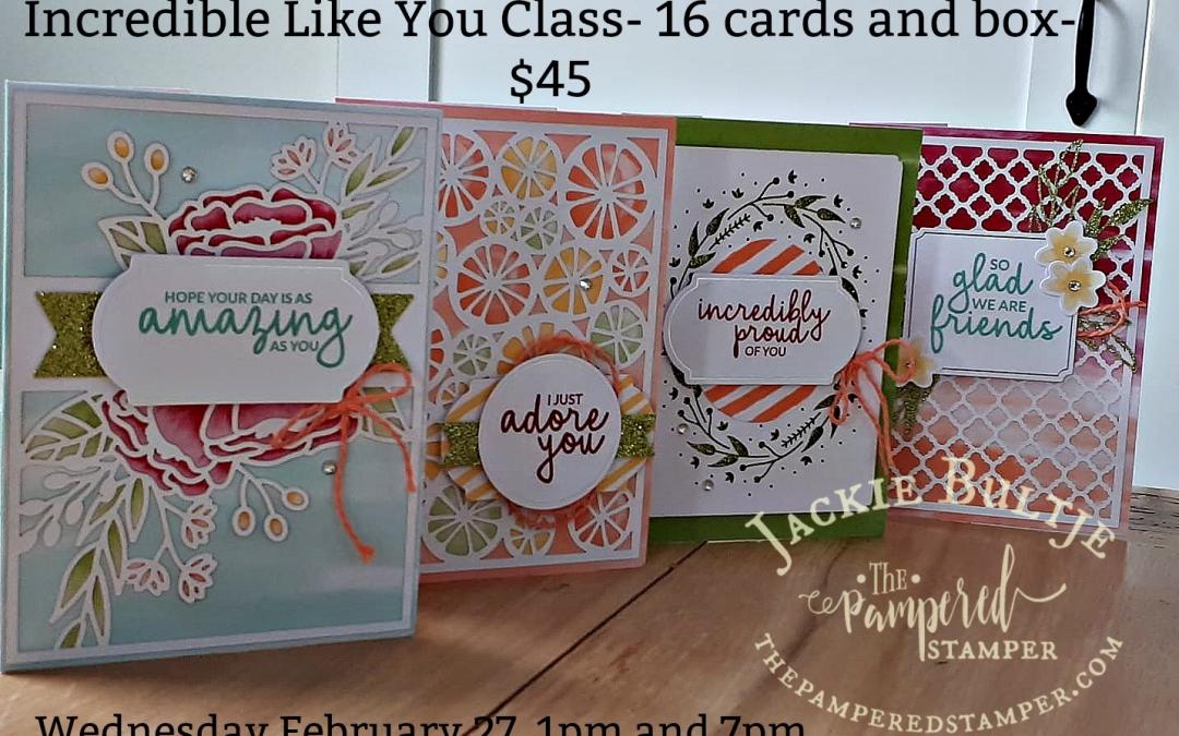 Incredible Like You Card Kit