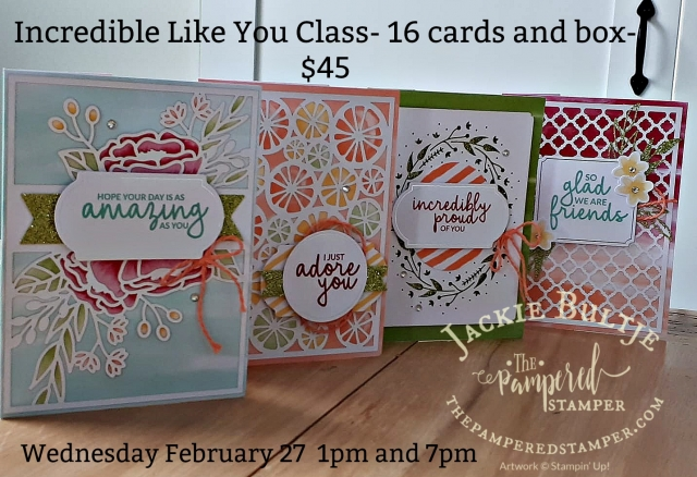 Paint Night for card makers