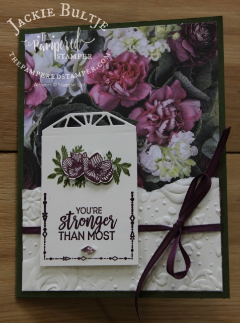 Beautiful Promenade and Country Floral embossing folder