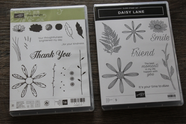 Two daisy stamp sets for even more versatility.