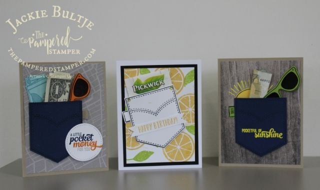 Coffee and a card class cards using Pocketful of Sunshine
