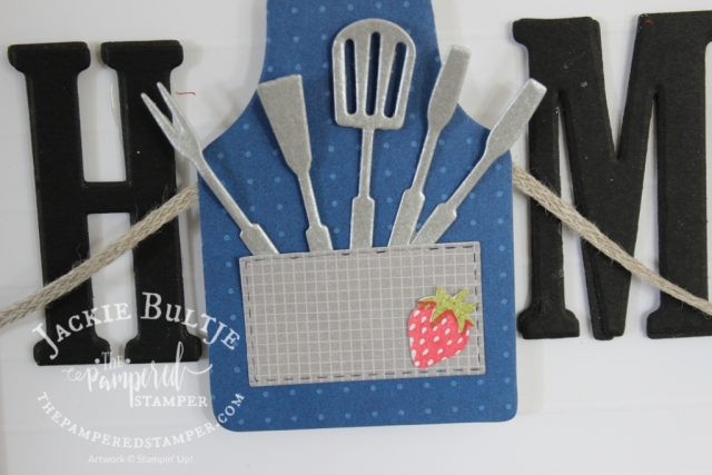 Home decor frame inserts with Apron of Love