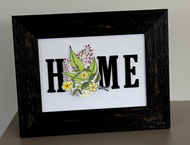 Home decor frame inserts with Lovely Romance