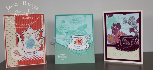 Tea Together cards for Mother's Day.