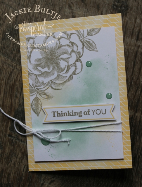 Grey Granite Sentimental Rose from Paper Pumpkin