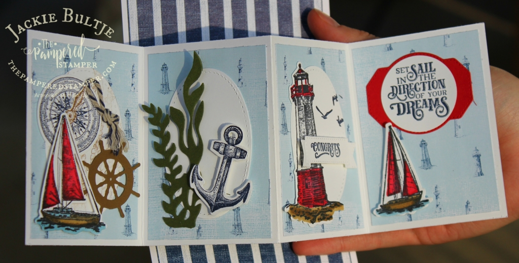 Come Sail Away Twisted Pop-Up Card Two