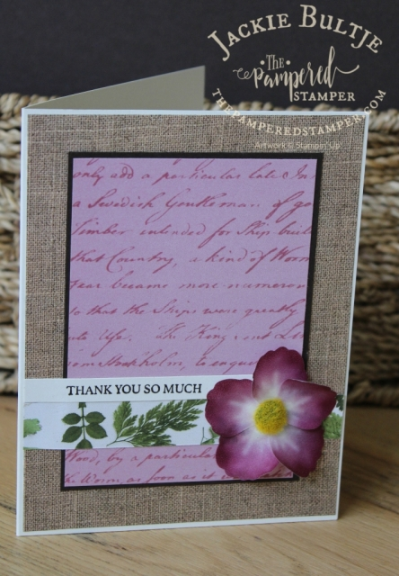 Pressed Petals paper and coordinating washi flowers
