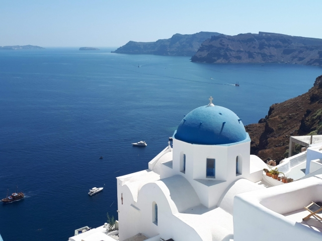 Iconic photo of the Greek Isles incentive trip