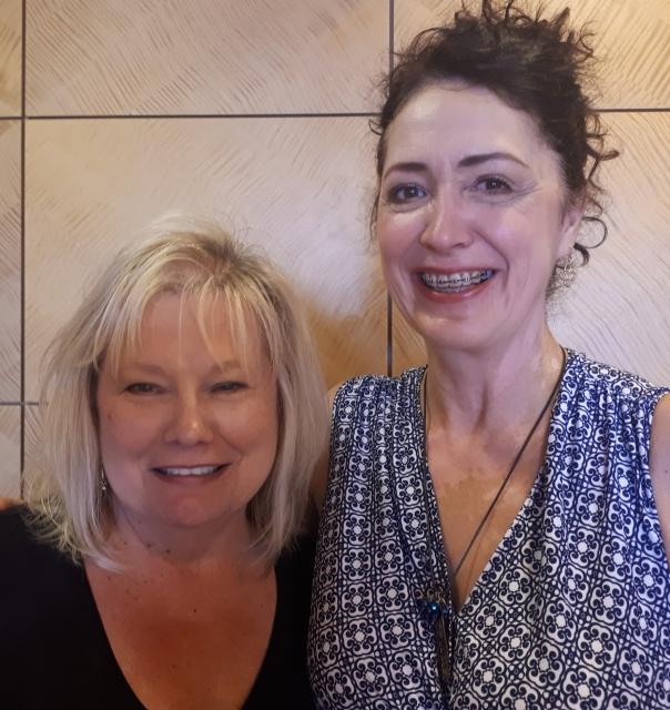 Julie Gilson and Jackie Bultje: cross border buddies working together to serve you better!