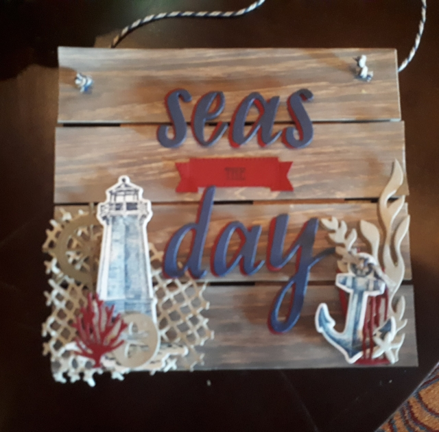 Great home decor using stamping products