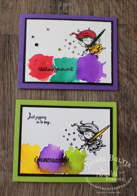 Pigment Sprinkles and New Wonders from Stampin'Up!