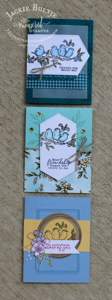 Stitched Nested Labels and Free as A Bird cards