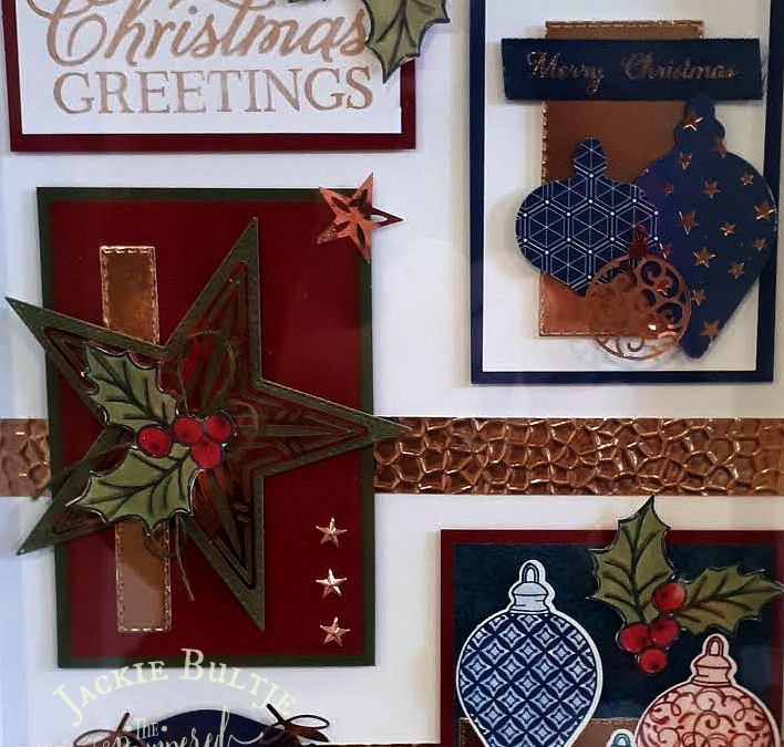 Gorgeous Christmas Sampler