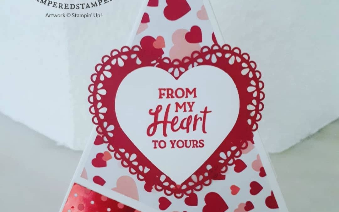 Heartfelt Teepee Card
