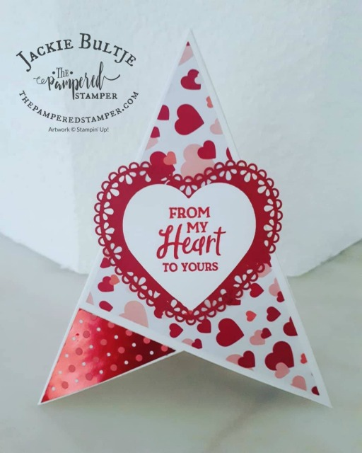 Heartfelt Teepee Card