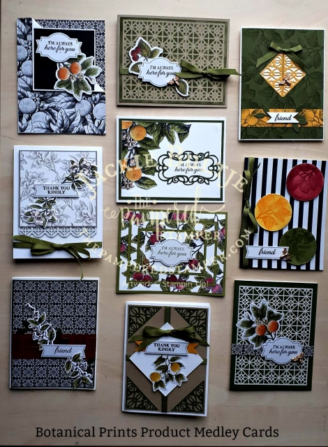 Botanical Prints Product Medley pdf tutorial