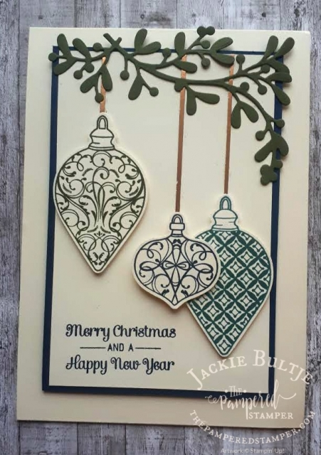 Brightly Gleaming card by Carla