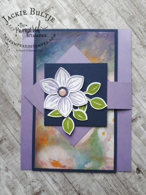 Fun Fold Flap card by Faye Molsberry