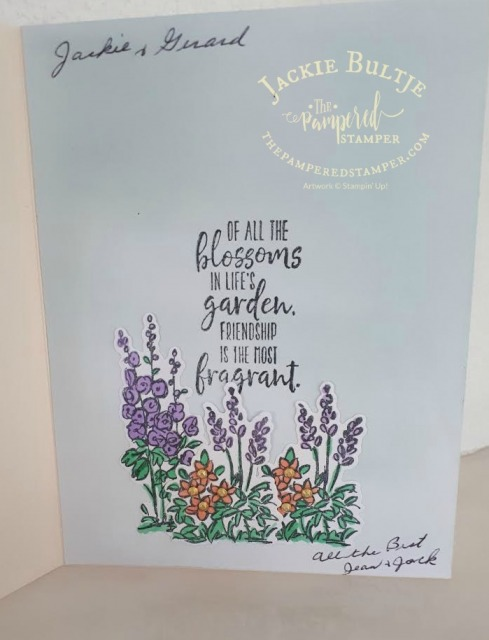 Grace's Garden inside details