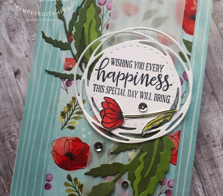 Peaceful Moments and Painted Poppies