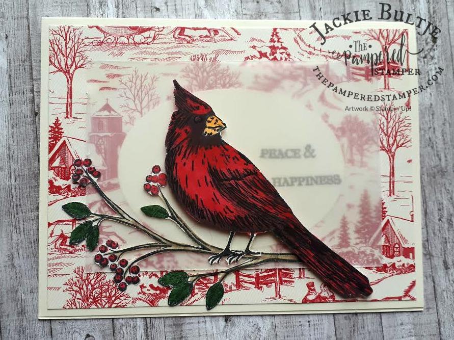 Cardinal Happy Mail from New Brunswick