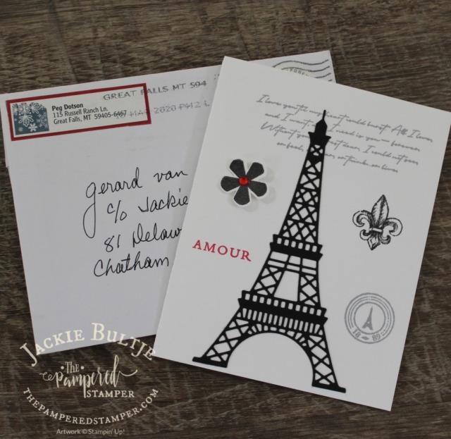 Paris- Man Card